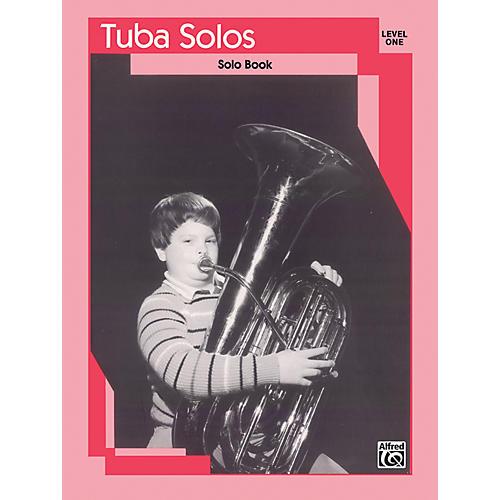 Alfred Tuba Solos Level I Solo Book-thumbnail