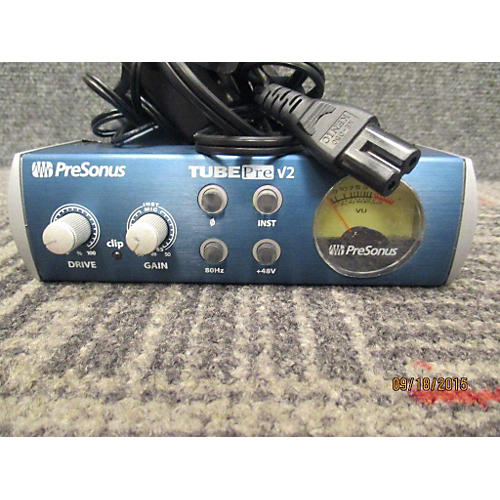 Presonus Tube Pre V2 Blue, Black, And Silver Microphone Preamp-thumbnail