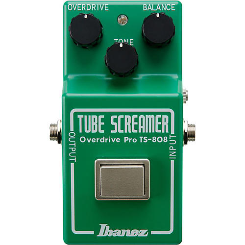 Ibanez Tube Screamer Pro TS808 35th Anniversary Deluxe Overdrive Guitar Effects Pedal-thumbnail