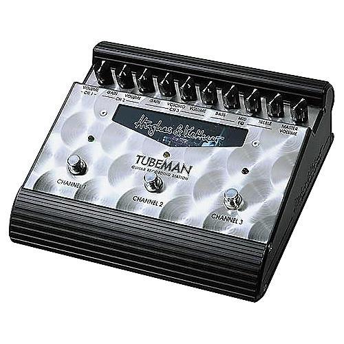 Hughes & Kettner Tubeman Tube-Driven 3-Channel Guitar Recording Station-thumbnail