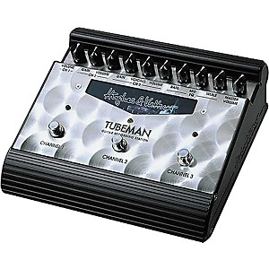 Hughes and Kettner Tubeman Tube-Driven 3-Channel Guitar Recording Station