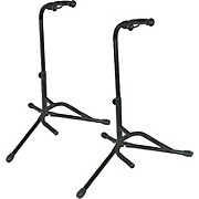 Tubular Guitar Stand Black Pair