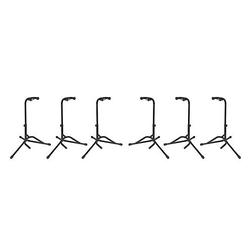 Musician's Gear Tubular Guitar Stand Regular Black 6-Pack