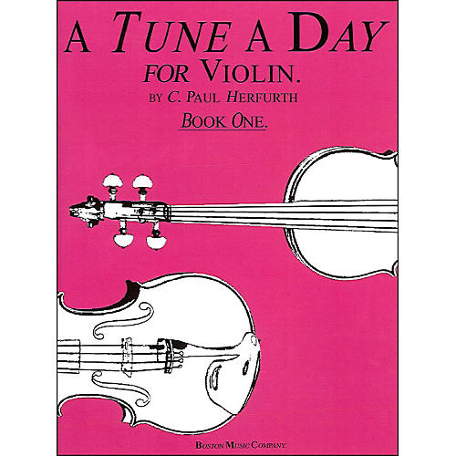 Music Sales Tune A Day Violin Book 1 By Herfurth-thumbnail