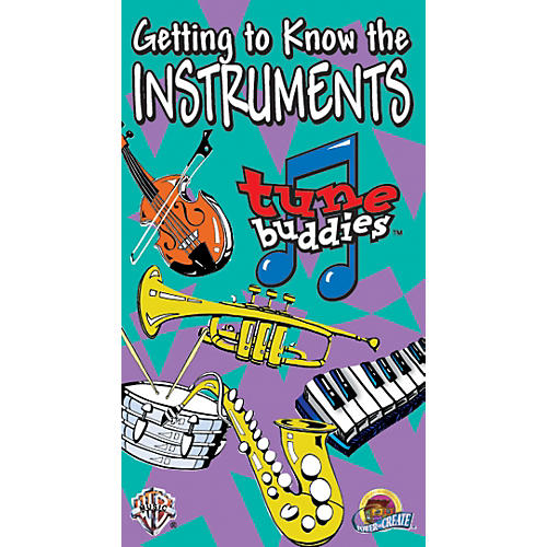 Alfred Tune Buddies: Getting to Know the Instruments