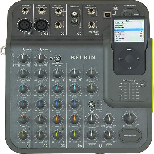 Belkin TuneStudio Audio Mixer for iPod