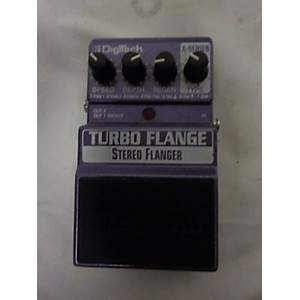 Pre-owned Digitech Turbo Flange Stereo Flange Effect Pedal