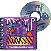 Drum Fun Inc Turn It Up and Lay It Down, Volume 4 - Baby Steps to Giant Steps - Play Along CD for Drummers