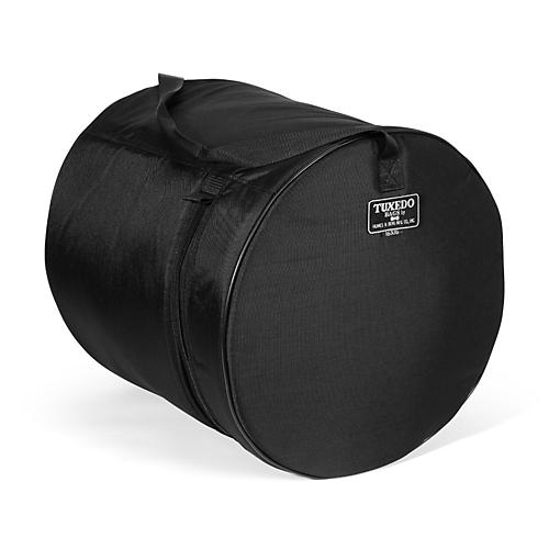 Humes & Berg Tuxedo Floor Tom Drum Bag Black 14x16