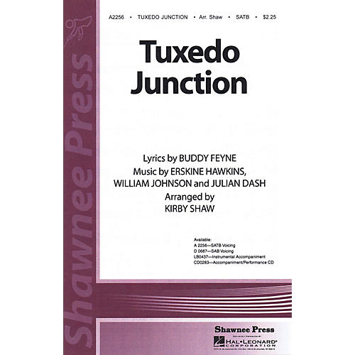 Shawnee Press Tuxedo Junction Studiotrax CD Arranged by Kirby Shaw
