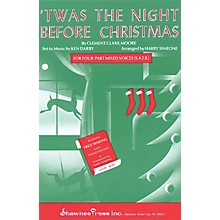 Shawnee Press 'Twas the Night Before Christmas SAB Arranged by Harry Simeone