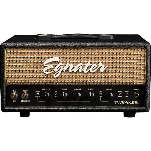 Egnater Tweaker 15W Tube Guitar Amp Head Black, Beige