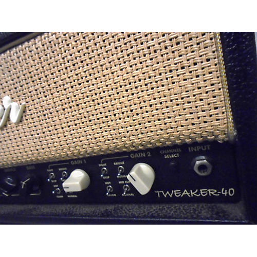 Egnater Tweaker 40 40W Black Tube Guitar Amp Head-thumbnail