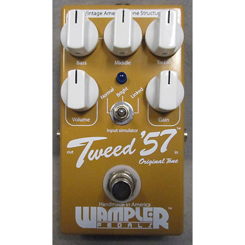 Wampler Tweed '57 Vintage Overdrive ELEC PEDAL-E VOLUME-thumbnail