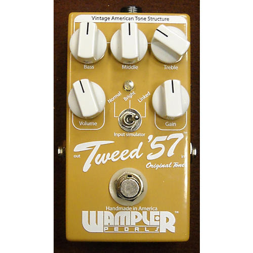 Wampler Tweed '57 Vintage Overdrive Effect Pedal