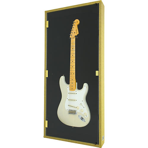 Display and Play Tweed '59 Electric Guitar Display Case-thumbnail