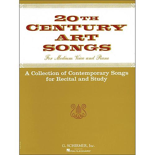 G. Schirmer Twentieth (20th) Century Art Songs Medium Voice for Recital And Study-thumbnail