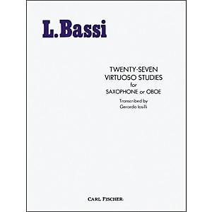 Carl Fischer Twenty-Seven Virtuoso Studies by Carl Fischer