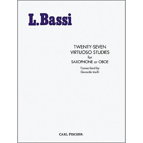 Carl Fischer Twenty-Seven Virtuoso Studies