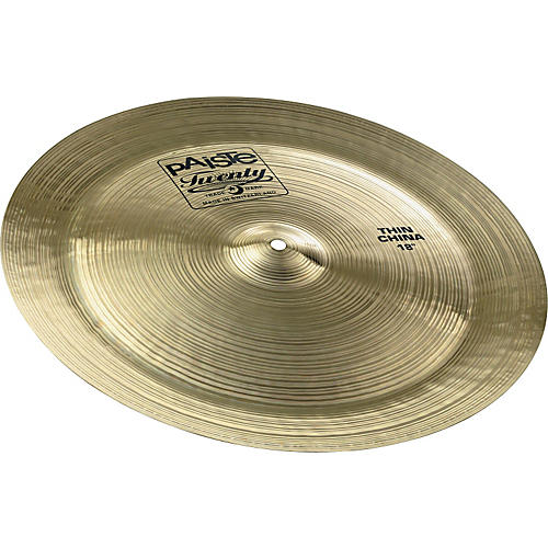 Paiste Twenty Thin China Cymbal