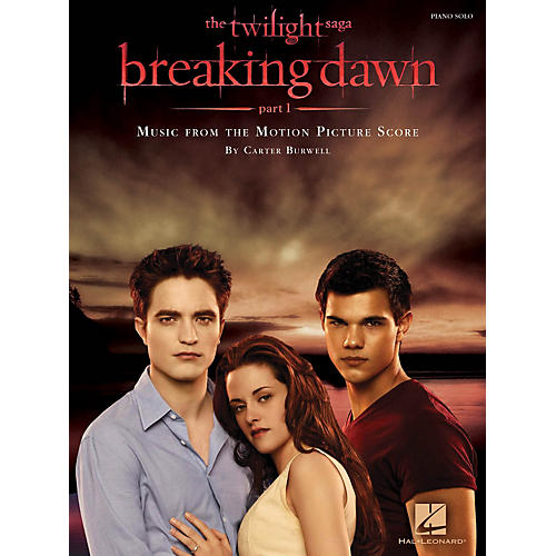 Hal Leonard Twilight: Breaking Dawn Part 1 - Music From The Motion Picture Score For Piano Solo