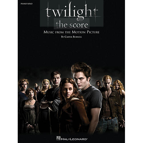 Hal Leonard Twilight Music From The Motion Picture Score For Piano Solo-thumbnail