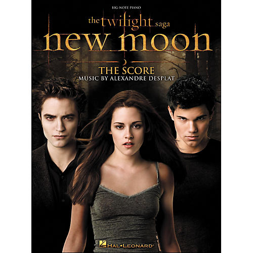 Hal Leonard Twilight: New Moon - Music From The Motion Picture Score for Big Note Piano-thumbnail