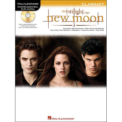Hal Leonard Twilight: New Moon for Clarinet - Instrumental Play-Along CD/Pkg