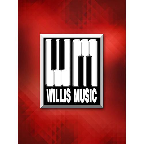 Willis Music Twilight Waltz (1 Piano, 4 Hands/Mid-Elem Level) Willis Series by David Karp