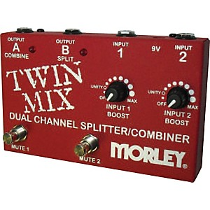 Morley Twin Mix ABY Switcher Splitter Combiner by Morley