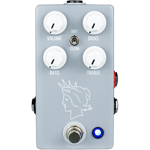 JHS Pedals Twin Twelve V2 Overdrive Effects Pedal