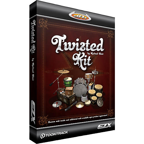 Toontrack Twisted Kit EZX Software Download