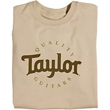 Taylor Two-Color Logo T-Shirt Sand
