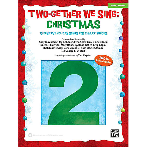 Alfred Two-Gether We Sing: Christmas Enhanced CD-thumbnail