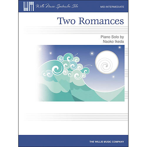 Willis Music Two Romances Mid-Intermediate Piano Solo by Naoko Ikeda-thumbnail