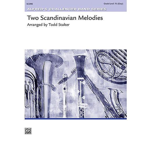 Alfred Two Scandinavian Melodies Concert Band Grade 1.5 Set