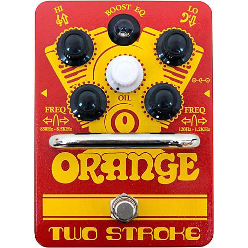 Orange Amplifiers Two-Stroke Boost EQ Guitar Effects Pedal-thumbnail