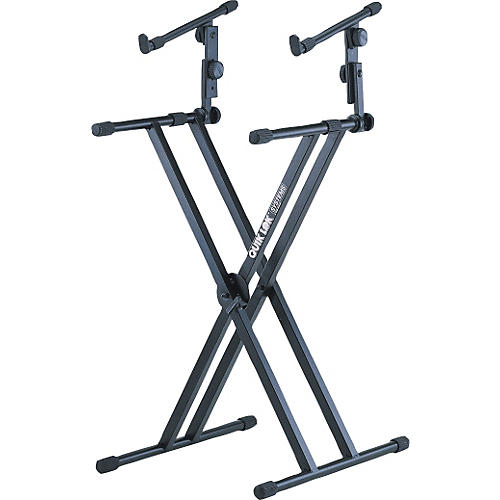 Quik-Lok Two Tier Heavy Duty X Keyboard Stand-thumbnail