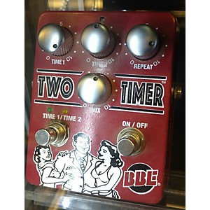 Pre-owned BBE Two Timer Dual Analog Delay Effect Pedal by BBE