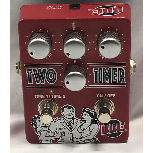 BBE Two Timer Dual Analog Delay Effect Pedal-thumbnail