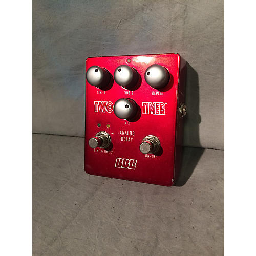 BBE Two Timer Dual Analog Delay Red Effect Pedal