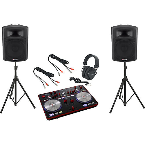 Vestax Typhoon / Harbinger APS15 DJ Package-thumbnail