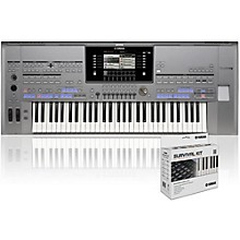Yamaha Tyros5-61 with SK AW Survival Kit