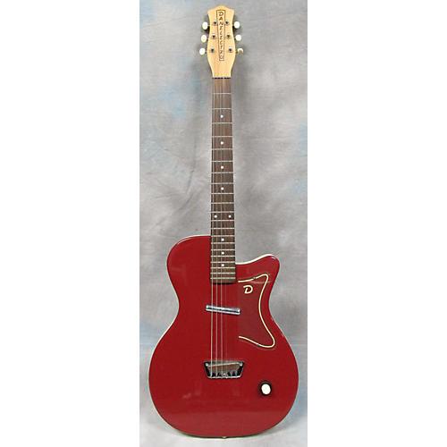 Danelectro U-1 Burgundy Solid Body Electric Guitar-thumbnail