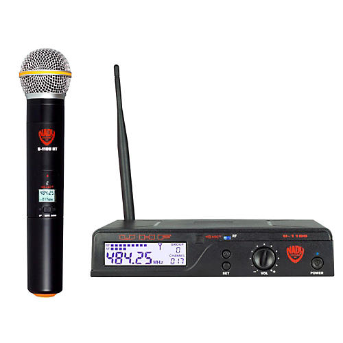 Nady U-1100 HT – 100 Channel UHF Handheld Wireless Microphone System