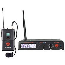 Nady U-1100 LT - 100 Channel UHF Wireless System with Omnidirectional Lavalier/Lapel Microphone Level 1 Band B