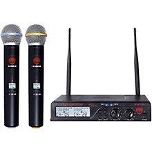 Nady U-2100 HT - Dual 100 Channel UHF Handheld Wireless Microphone System
