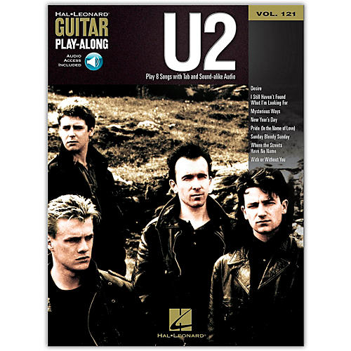 Hal Leonard U2 - Guitar Play-Along Volume 121 (Book/Online Audio)