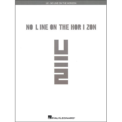 Hal Leonard U2 - No Line On The Horizon arranged for piano, vocal, and guitar (P/V/G)