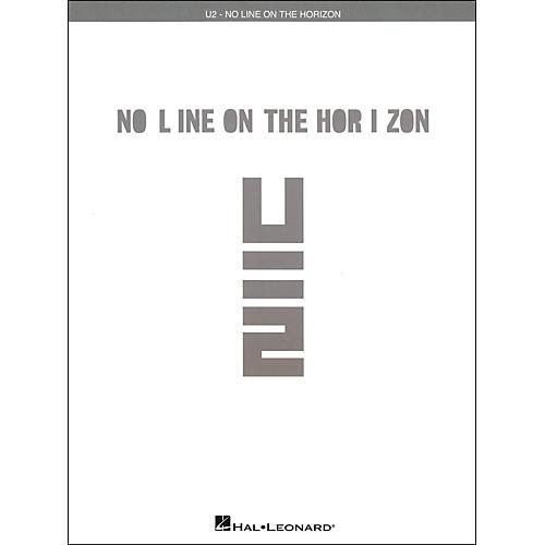 Hal Leonard U2 - No Line On The Horizon arranged for piano, vocal, and guitar (P/V/G)-thumbnail